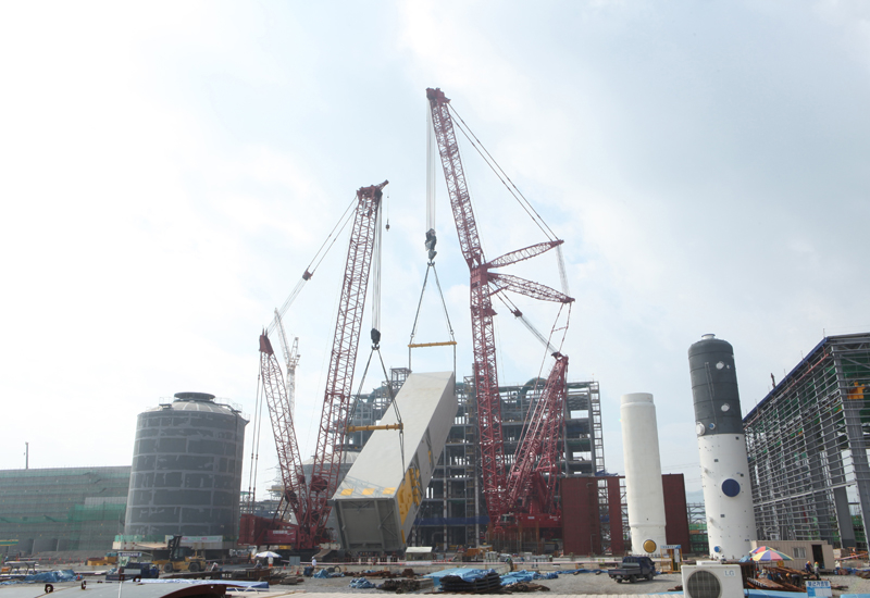 Manitowoc sold 115 of its Potain-branded tower cranes to UAE-based Nouman Fouad Trading (NFT) in March 2014.