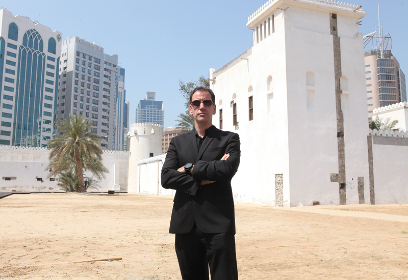Mark Powell Kyffin, head of architecture at Abu Dhabi Tourism and Culture Authority.