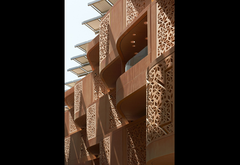 The team behind Abu Dhabi's Masdar City is keen to raise awareness about the importance of buildings' embodied carbon levels.