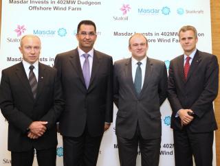 NEWS, Business, Masdar, Statoil, Wind farm