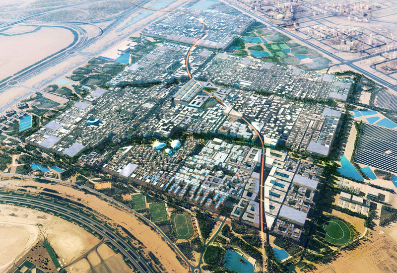 Residences are currently under construction at Masdar City.