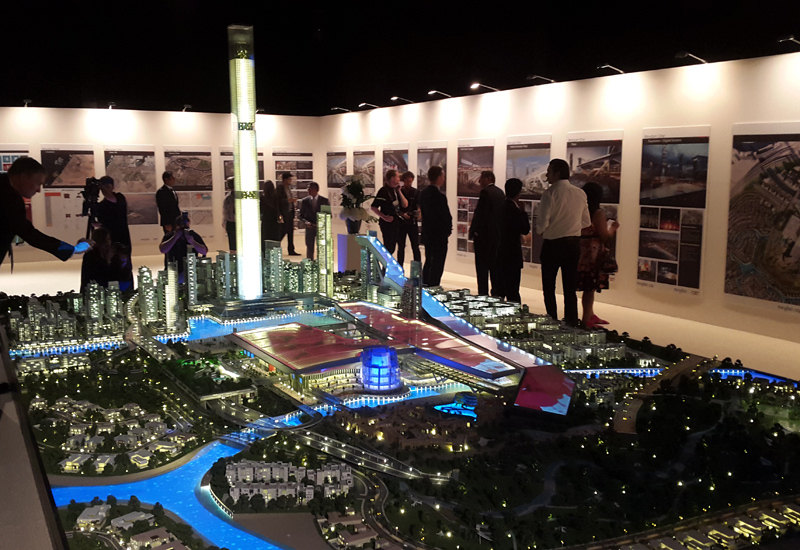 Once completed, Meydan One will boast the tallest residential tower in the world.