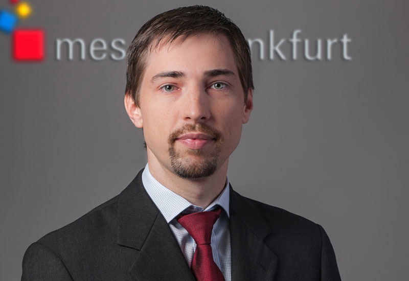 Michael Dehn, group exhibitions director for the organiser, Messe Frankfurt Middle East.