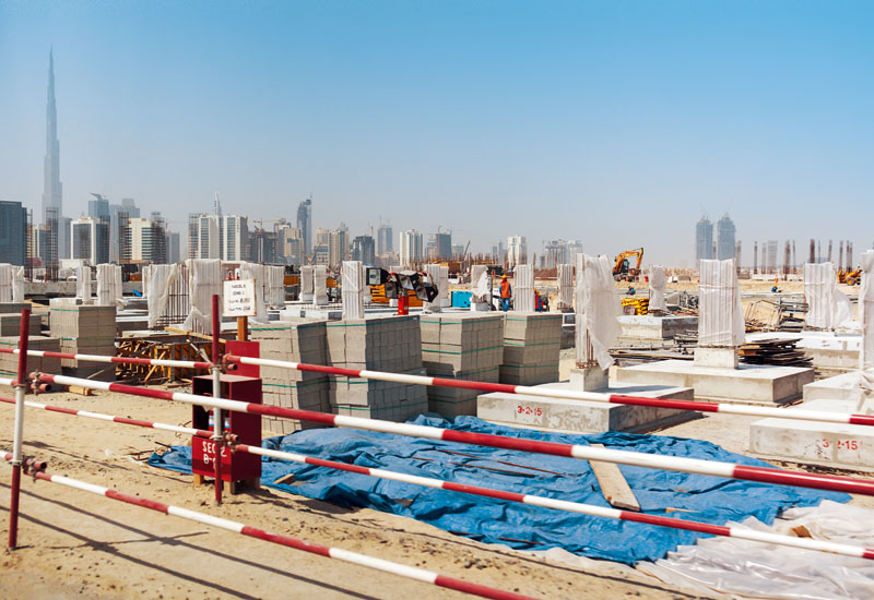 The project is located off Al Khail Road in Dubai.