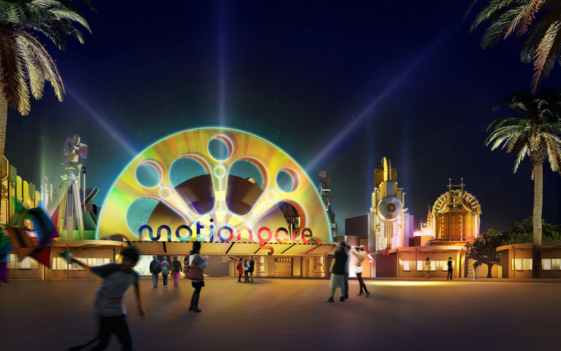 NEWS, Projects, Dubai Parks and Resorts LLC, International Merchandising, Jebel Ali, MotiongateTM Dubai, Promotion and Services, Sony Pictures Studio, The Smurfs, Theme park