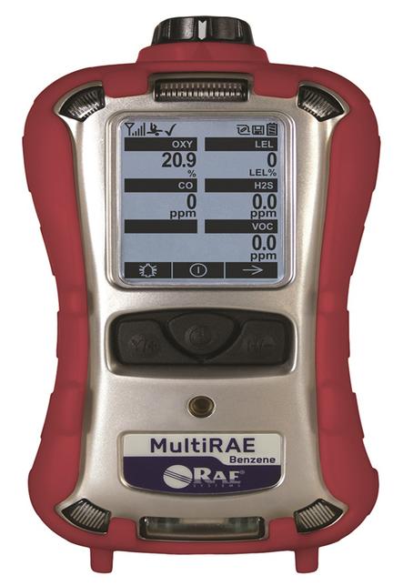 The new MultiRAE Benzene includes a six-tube cartridge—called RAE SepTubeTM Cartridge.