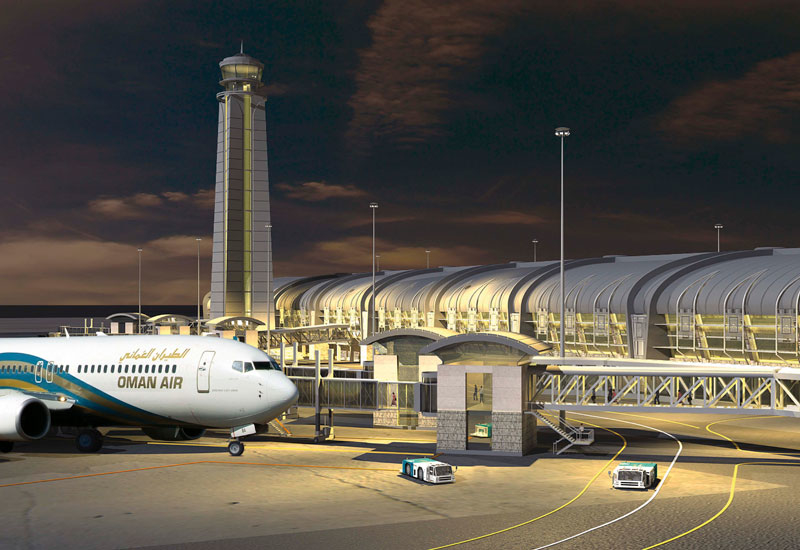Flying high: Muscat International Airport's expansion forms part of Oman's strategy to boost tourism.