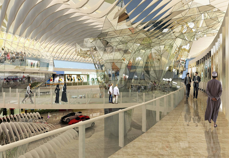 The Muscat Grand Millennium Hotel will have a sky bridge connected to the Muscat Grand Mall.