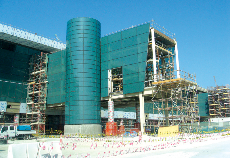 Foamglas was used at Doha's new International Airport.