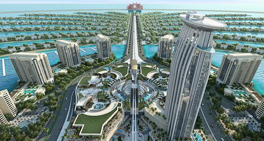 NEWS, Projects, Construction, Dubai, NAKHEEL, Palm Jumeirah, Project award, Shopping mall, The pointe