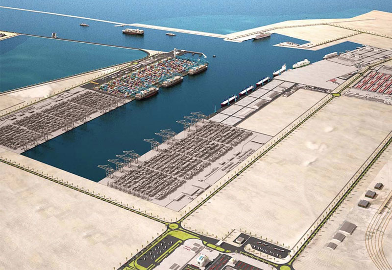 The first phase of the New Port project will allow it to handle up to two million containers.