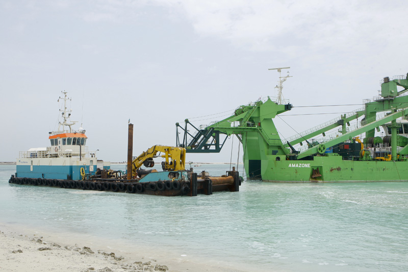 Doha New Port.