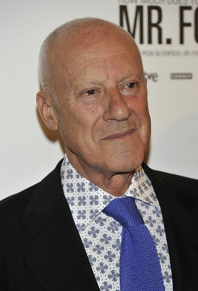 Lord Norman Foster, who officially opened the hall.