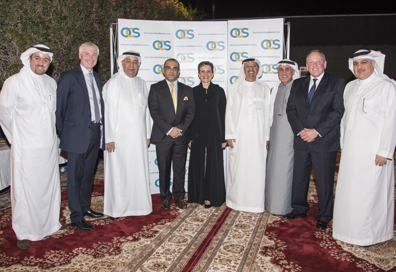 The launch of OCS Arabia was held at the British Consulate in Jeddah, Saudi Arabia.
