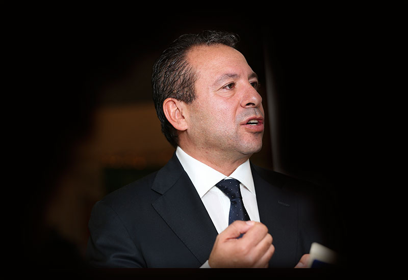 Osama Bishai (above) is chief executive officer of Orascom Construction.