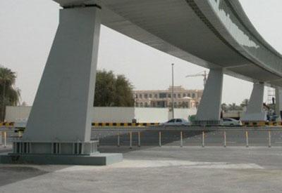 Pedestrian bridges have been built in Madinah's high density areas. [Representational image]