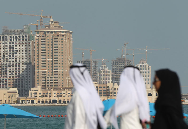 Qatar property sales are on the up.
