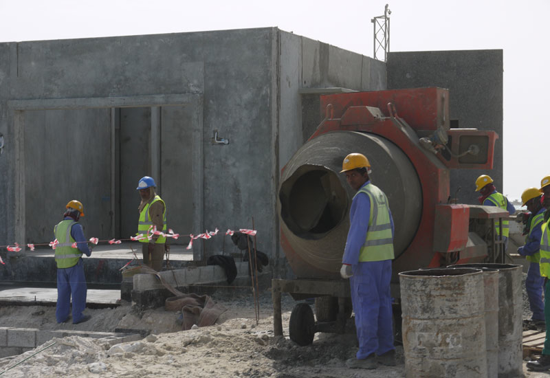 Numerous migrant workers are building for Qatar's 2022 FIFA World Cup. [Representational image]