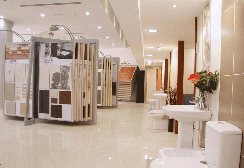 RAK Ceramics has three production lines in India, with a current capacity of 8 million sqm of tiles.