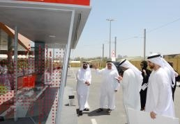 RTA chief H.E. Mattar Al Tayer announced the construction of 400 solar-powered bus shelters in Dubai.