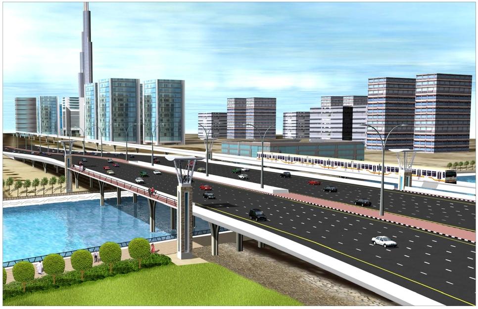 $545 million Dubai Canal Project is now 40%.