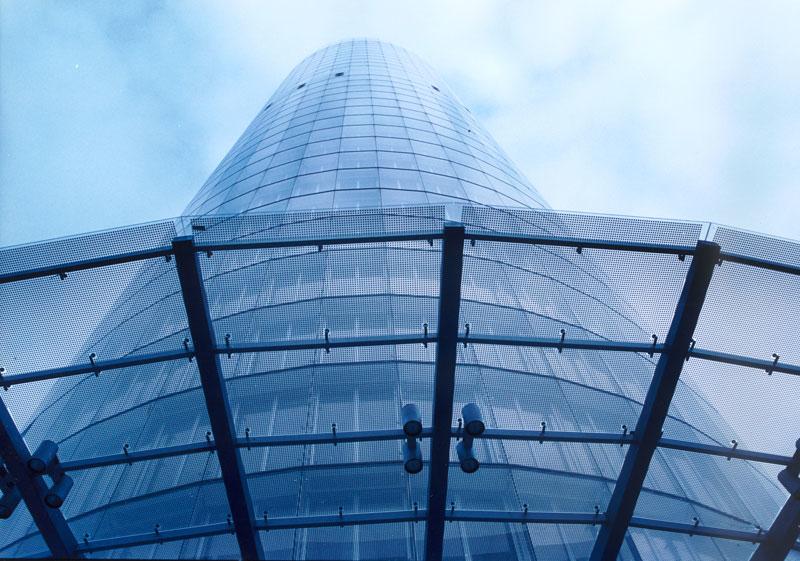 RWE Tower, Essen, built by Hochtief.