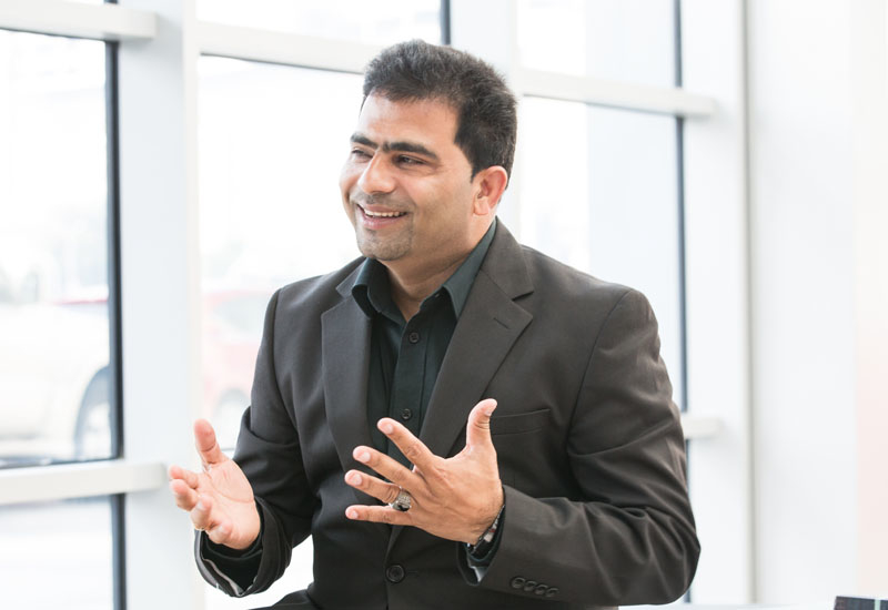 Rajesh Gopinath, CEO of Multi Mech