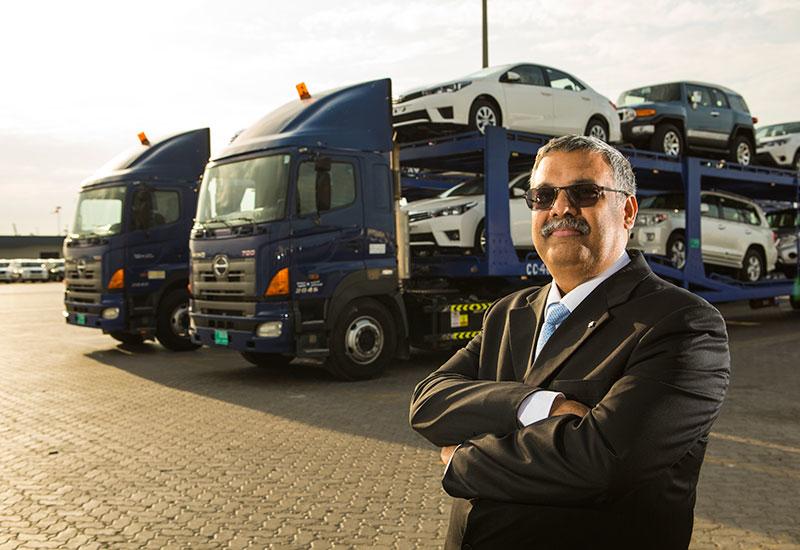 Al-Futtaim Logistics' acting managing director and finance manager, Raman Kumar