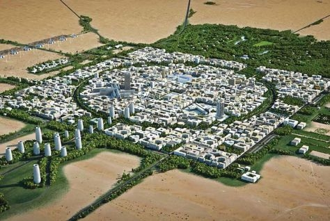 Renaissance City will be a masterplan for smart city project for 30,000 residents in a 290 hectare space and will blend the cultures of the UAE and It