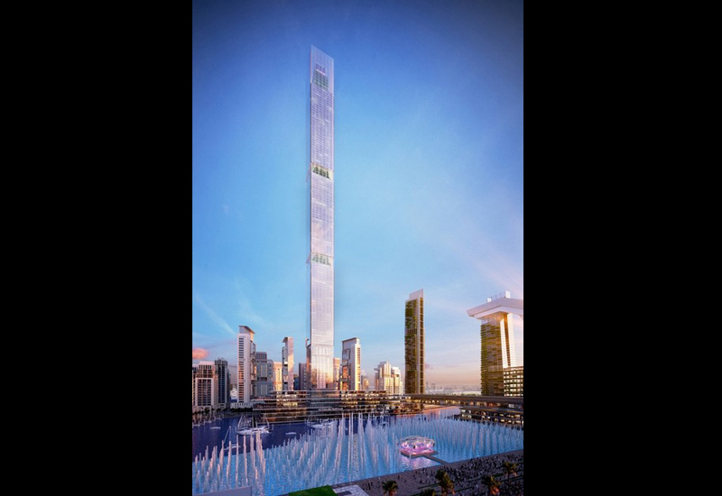 With a height of 711m, Dubai One Tower will be the world's tallest residential building.