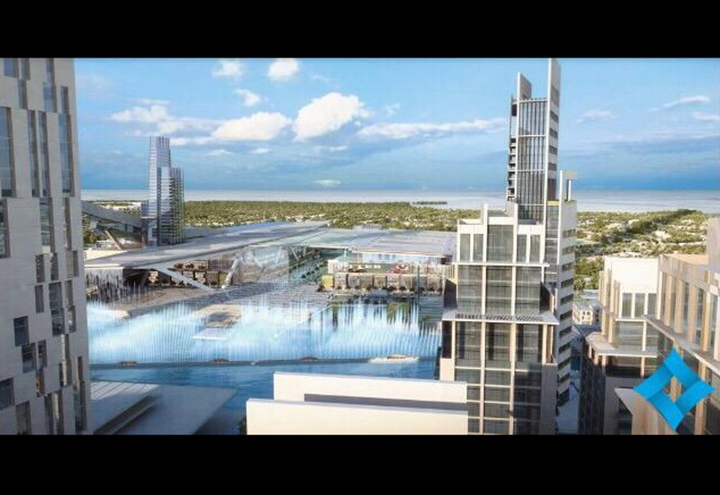 At 420m x 100m, Meydan One's fountain will be the largest in the world.