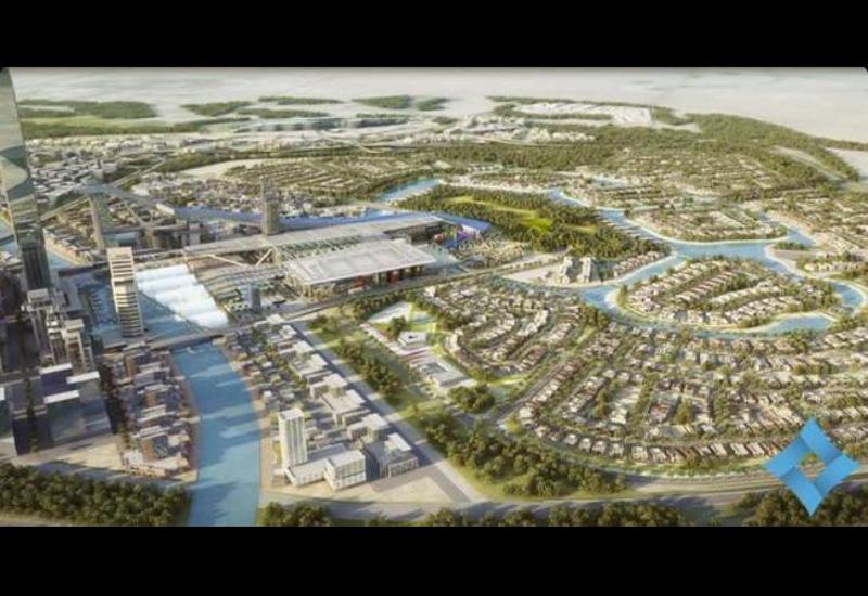 The development will sit on Dubai Metro's Gold Line.
