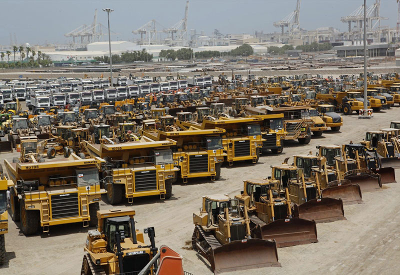 September's losts included more than 100 excavators, 85 compactors, 85 telescopic forklifts, 80 wheel loaders, 65 cranes, 40 loader backhoes, 85 dump trucks, and 55 truck tractors.