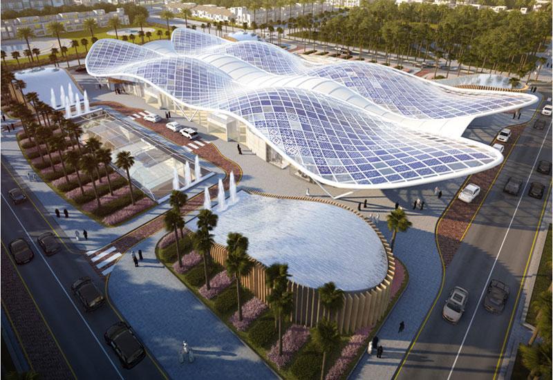 Proposed Riyadh Metro station
