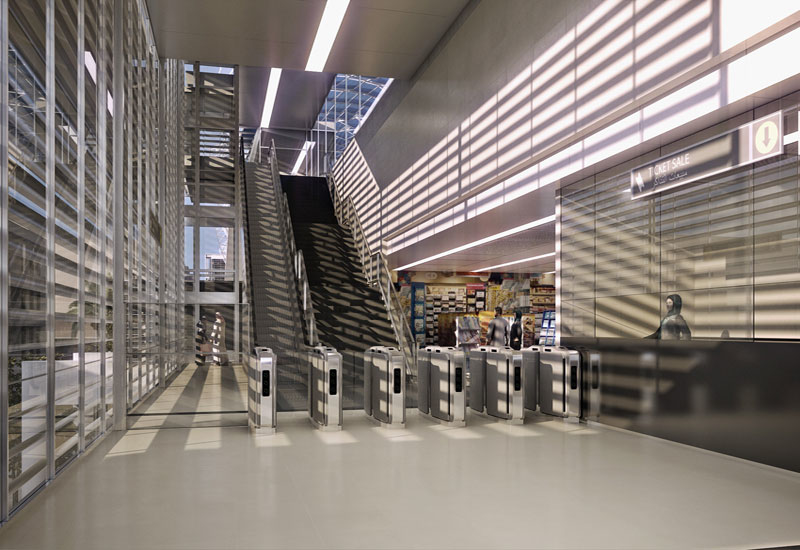 CGI of the Riyadh Metro project
