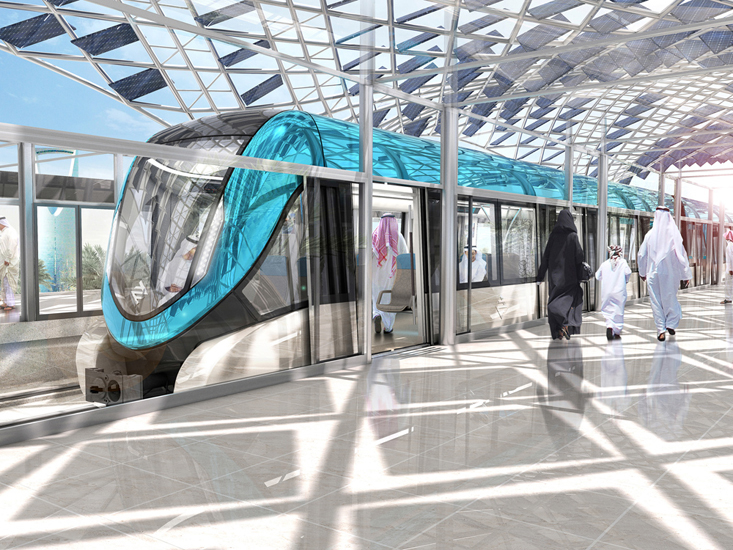 L&T will work on Riyadh Metro's Line 1 and Line 2.