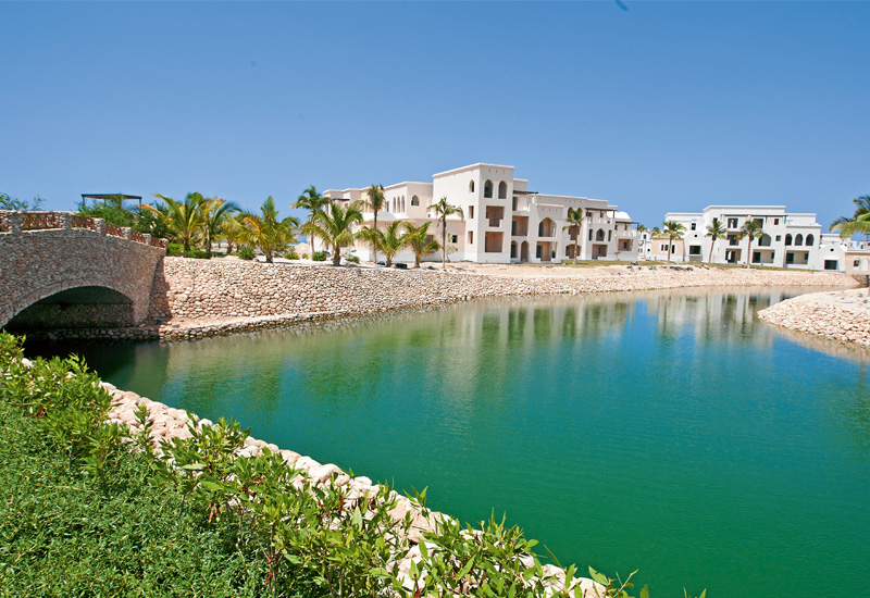 Salalah Beach is completely accessible by water through a network of man-made lagoons.