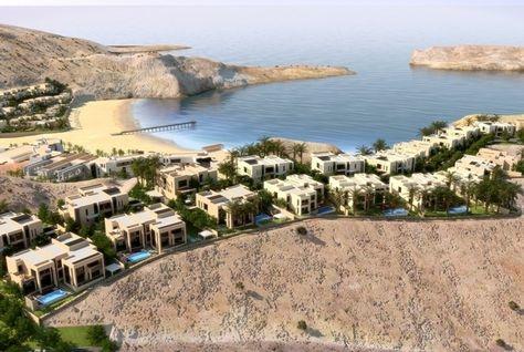 Saraya Bandar Jissah is located on Oman's north-eastern coast.