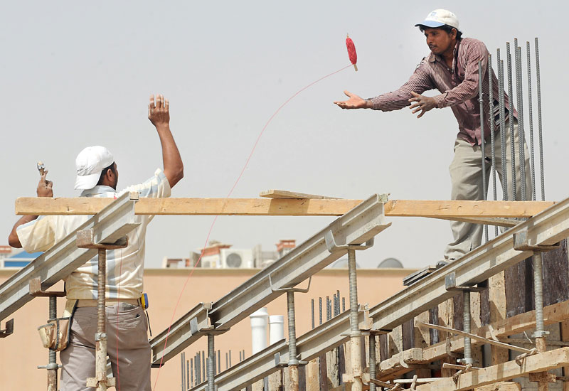 Challenging times: a hike in foreign worker fees has made it challenging for Saudi contractors to manage their workforces.