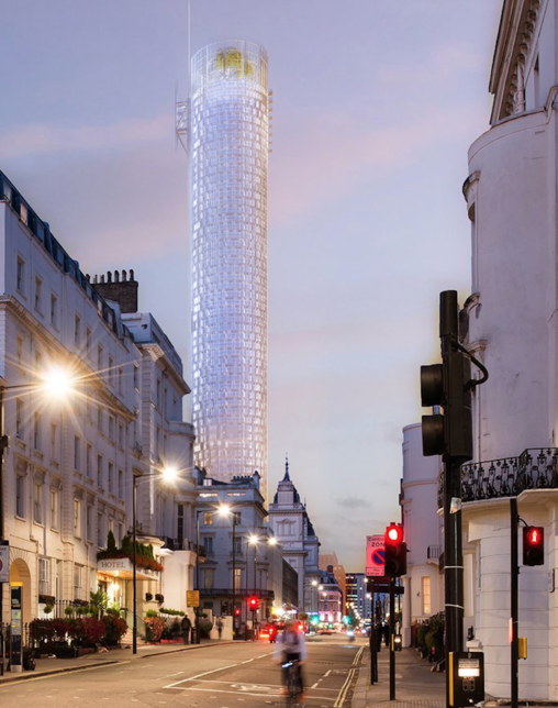 Architect Renzo Piano has revealed his plans for another London skyscraper.