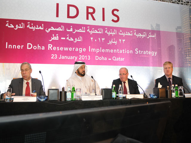 Inner Doha Re-sewerage Implementation Strategy (IDRIS)