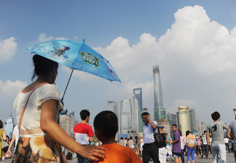 In pictures: China's tallest building