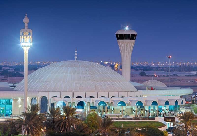 Sharjah International Airport.