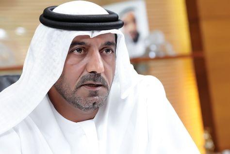 Sheikh Ahmed bin Saeed al-Maktoum, chairman of Dubai's Supreme Fiscal Committee.