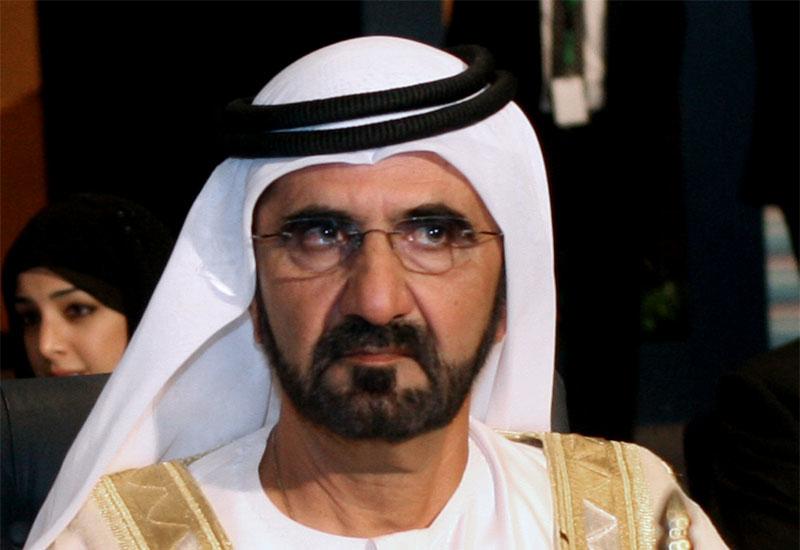 Ruler of Dubai, Sheikh Mohammed bin Rashid al-Maktoum.