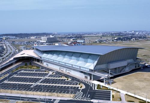 Ishikawa Sports Complex, built by Shimizu in 2008