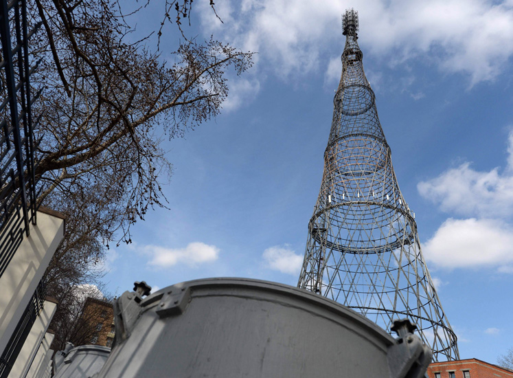 NEWS, Design, Architects, Moscow City Hall, Shabolovka radio tower