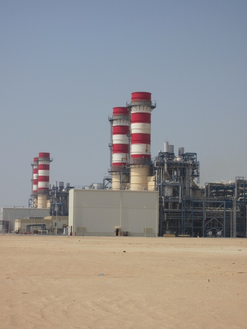 Shuweihat S3 power plant.