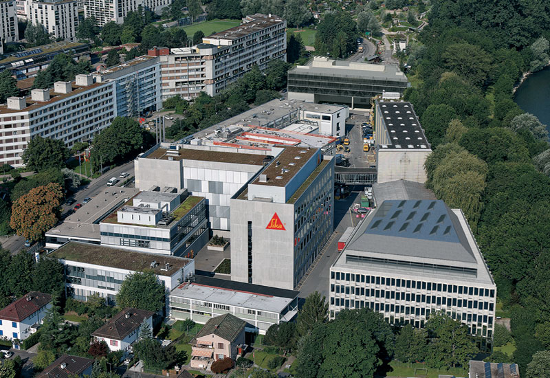 Sika AG's plant in Zurich