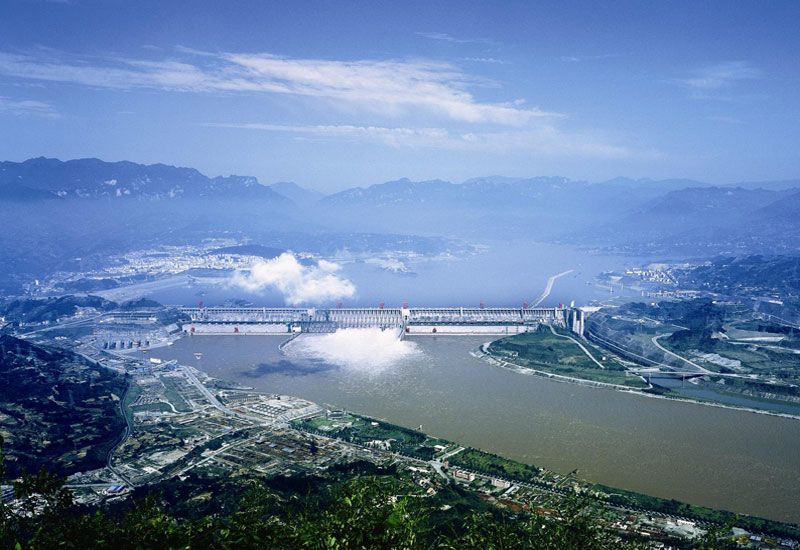 Three Gorges Dam, built by Sinohydro.